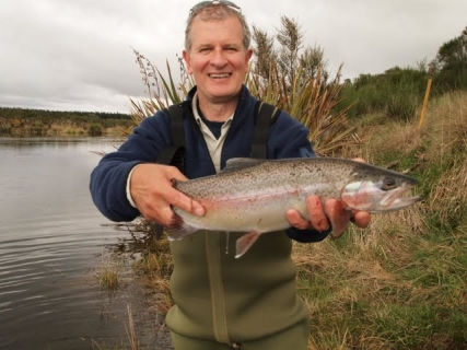 Trout let guard down in Lake O  | Andrew Christmas - Taupo